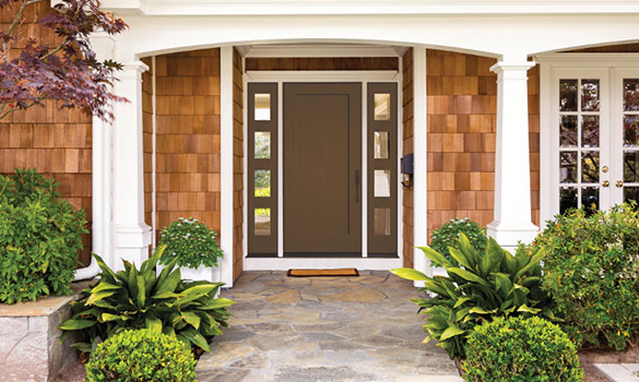 Entry Storm Doors Aside Image
