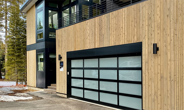 Full-View Aluminum Garage Doors