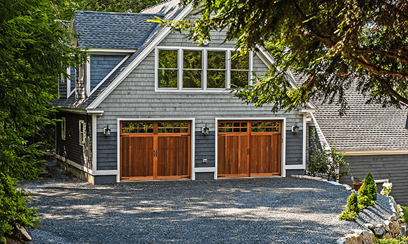 Overlay Carriage House Garage Doors
